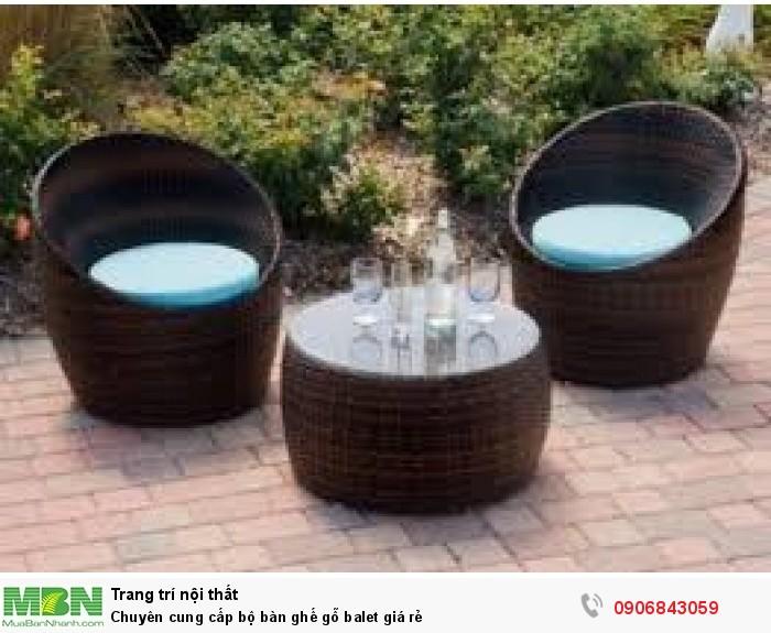 Chuyên cung cấp bộ bàn ghế gỗ balet giá rẻ3
