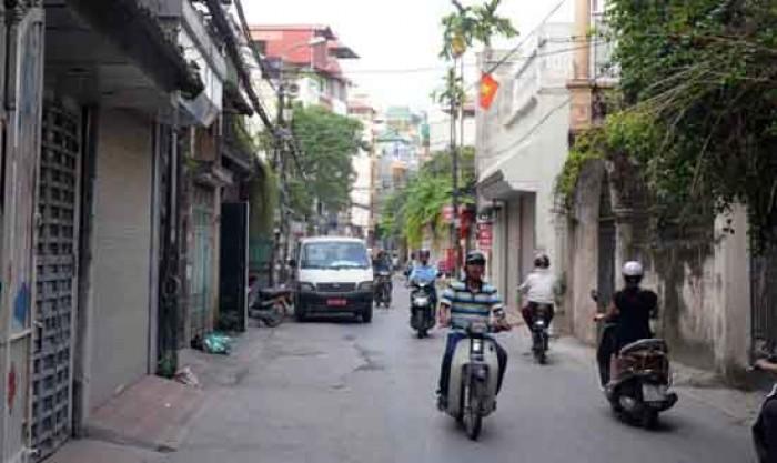 Bán nhà phân lô Hoàng Văn Thái 52m2, mặt tiền 5.2m ngõ ô tô 16 chỗ quay đầu.