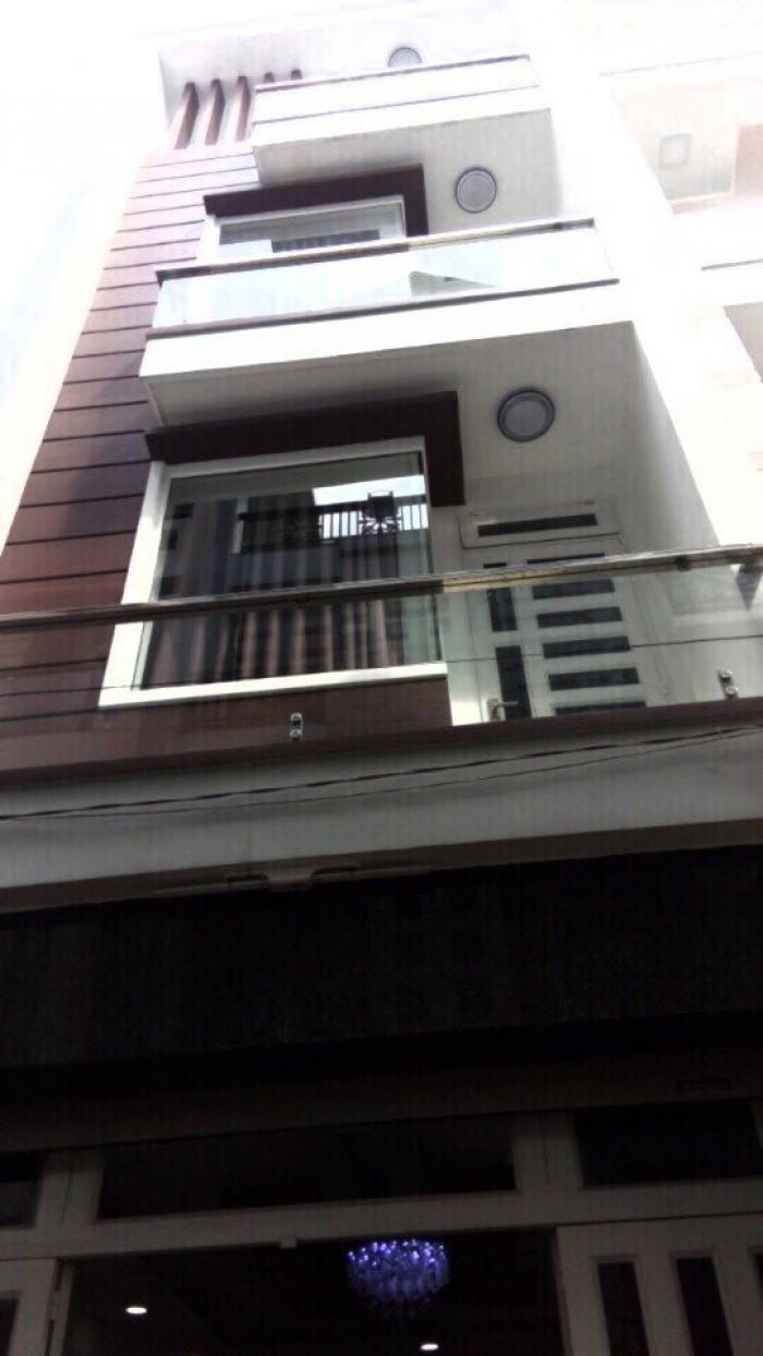 Bán Nhà hẻm 102 Đường Phan Huy Ích, phường 15, quận Tân Bình, 4 x 14m, 1 Trệt + 3 Lầu,