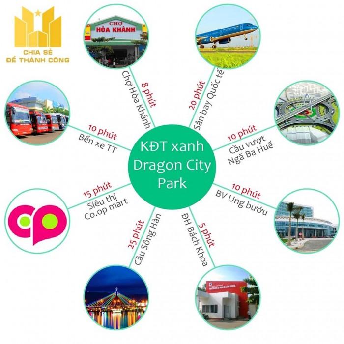 Nhận đặt chỗ dự án mới Dragon City Park trung tâm quận Liên Chiểu.