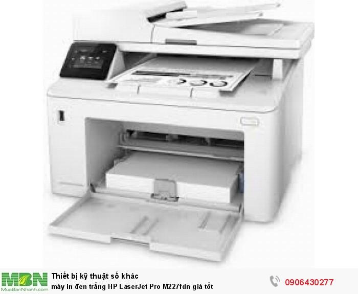 Máy in đen trắng HP LaserJet Pro M227fdn giá tốt0