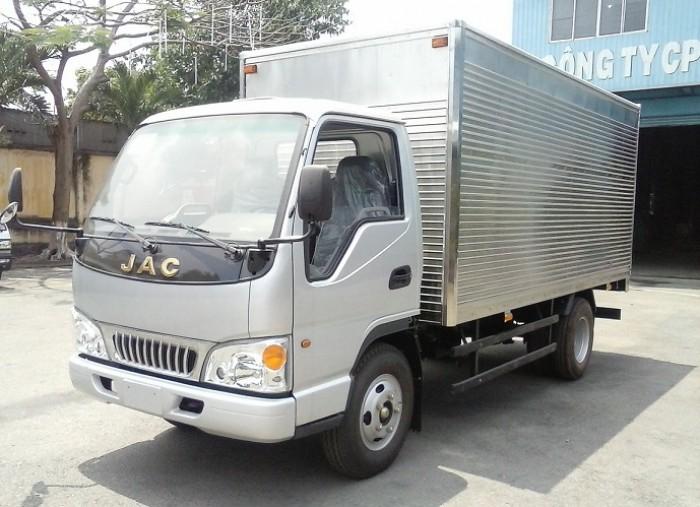 Xe tải jac 2t4 thùng kín 0