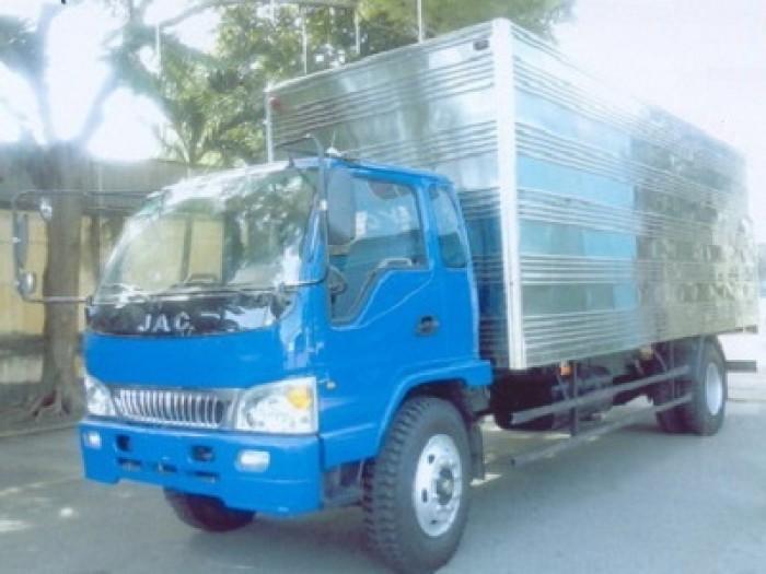 Xe tải JAC 9.1 Tấn Thùng Kín - HFC1383K 0
