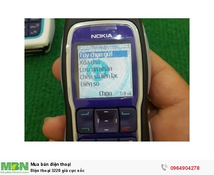 Điện thoại 3220 giá cực sốc