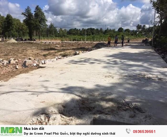 Dự án Green Pearl Phú Quốc, biệt thự nghỉ dưỡng sinh thái