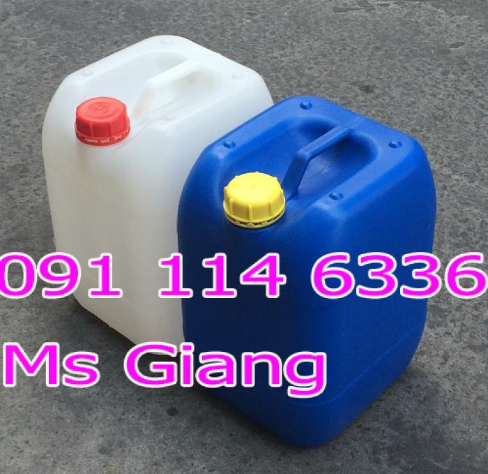Bán can nhựa giá rẻ tại tphcm, can nhựa 25 lít, can nhựa 20 lít, can nhựa 30 lít đựng hóa chất