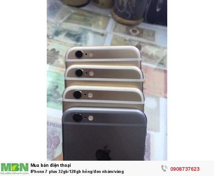 IPhone 7 plus 32gb/128gb hồng/đen nhám/vàng