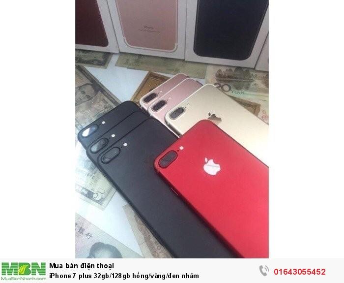 iPhone 7 plus 32gb/128gb hồng/vàng/đen nhám