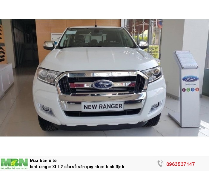 Ford Ranger XLT 2 cầu số sàn quy nhơn bình định