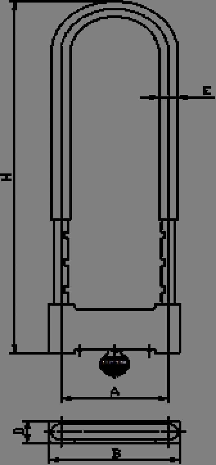 Khóa chống cắt chữ U Yeti, Amimao chất lượng cao9
