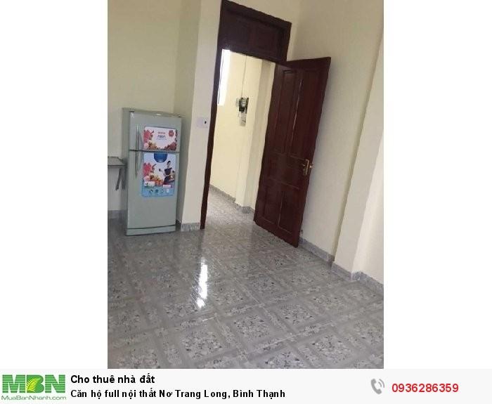 Căn hộ full nội thất Nơ Trang Long, Bình Thạnh