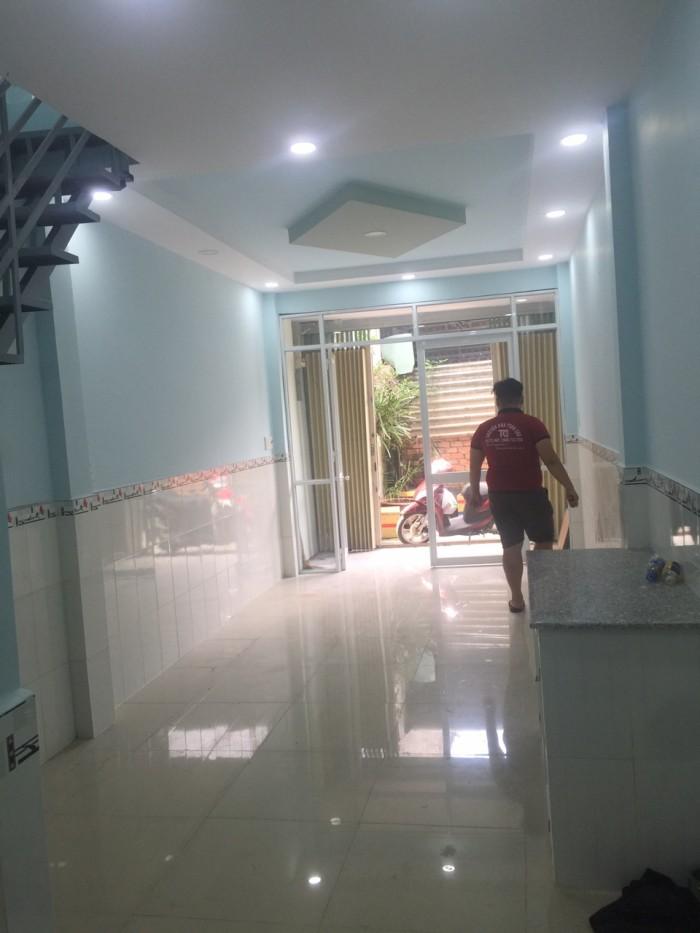 Căn nhà nhỏ 1 trệt 1 lầu  ngay T.M.Tây Q12 shr, 30m2