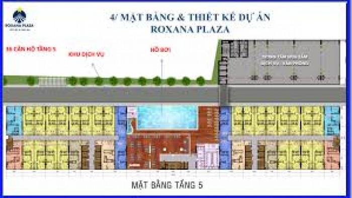 Siêu dự án Roxana Plaza Bình Dương nhận đặt chỗ đầu tiên.