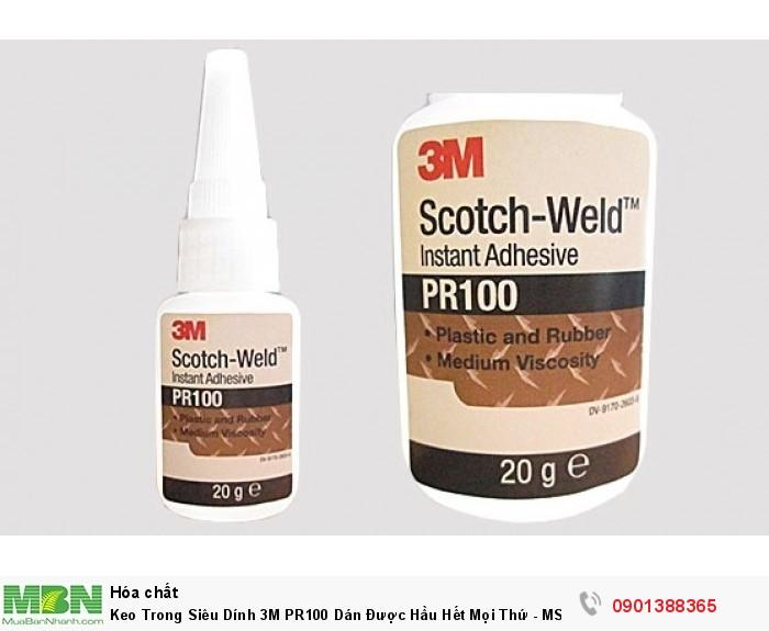 Keo Trong Siêu Dính 3M PR100 Dán Được Hầu Hết Mọi Thứ - MSN3882822