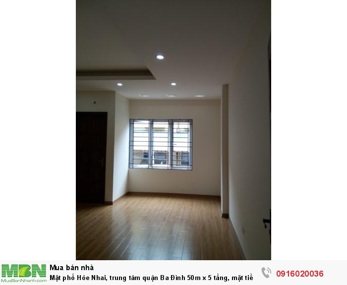 Mặt phố Hòe Nhai, trung tâm quận Ba Đình 50m x 5 tầng, mặt tiền rộng, kinh doanh sầm uất?