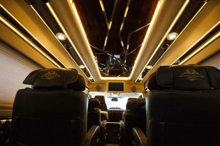 Bán Xe Ford Transit Limousine 2017 Kèm Nhiều Quà Tặng Hấp Dẫn 8