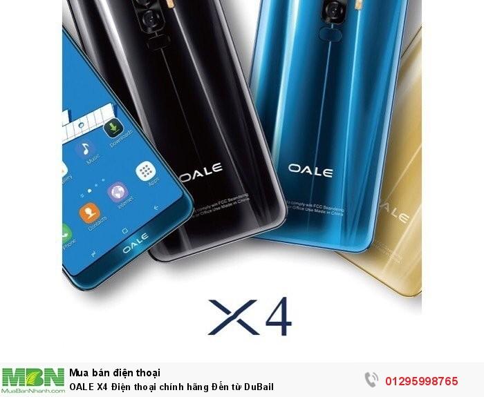 OALE X4 Điện thoại chính hãng Đến từ DuBail