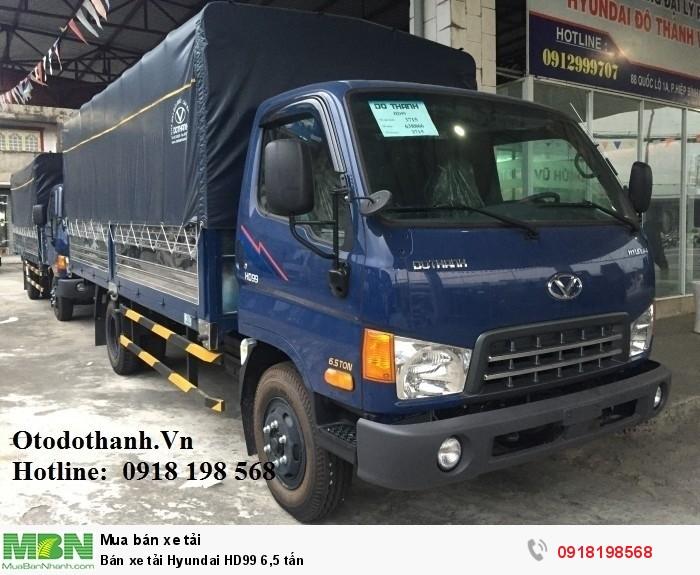 Bán xe tải Hyundai HD99 6,5 tấn