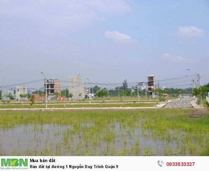 Bán đất tại đường 1 Nguyễn Duy Trinh Quận 9