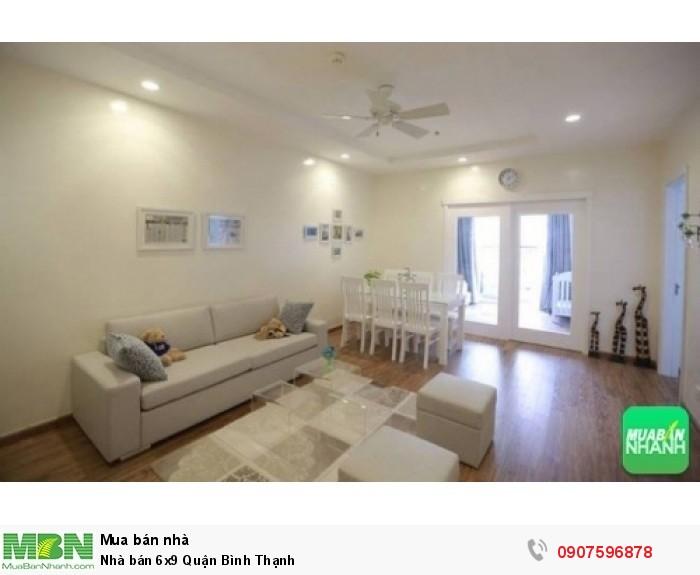 Nhà bán 6x9 Quận Bình Thạnh