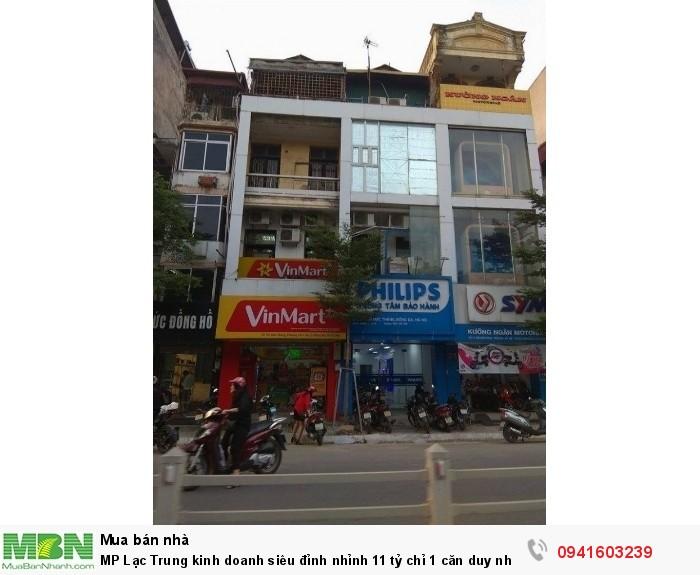 MP Lạc Trung kinh doanh siêu đỉnh nhỉnh 11 tỷ chỉ 1 căn duy nhất