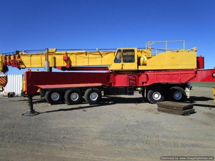 xe cẩu cũ nhập từ Úc PPM C1180- 127 tấn-2 tời 16