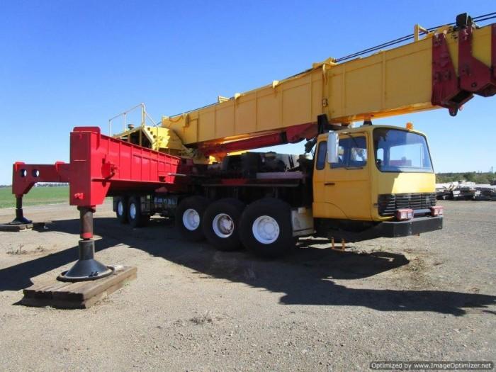 xe cẩu cũ nhập từ Úc PPM C1180- 127 tấn-2 tời 7