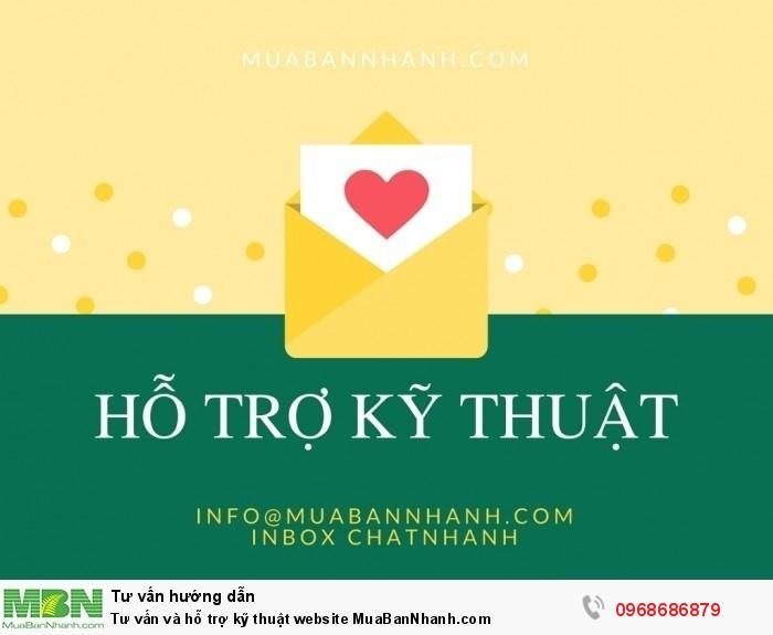 Tư vấn và hỗ trợ kỹ thuật website MuaBanNhanh.com