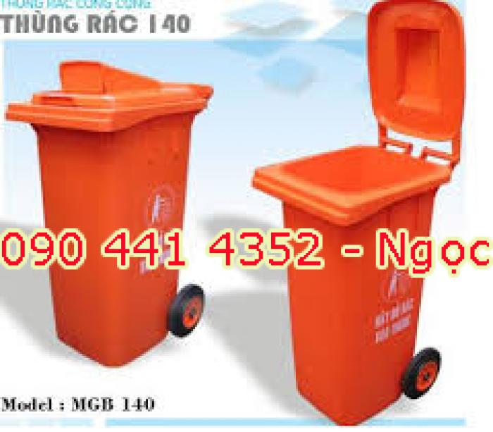 Thùng rác nhựa composite 120 lít, 240 lít. Thùng chứa rác 240 lít , thùng rác công cộng giá rẻ tphcm