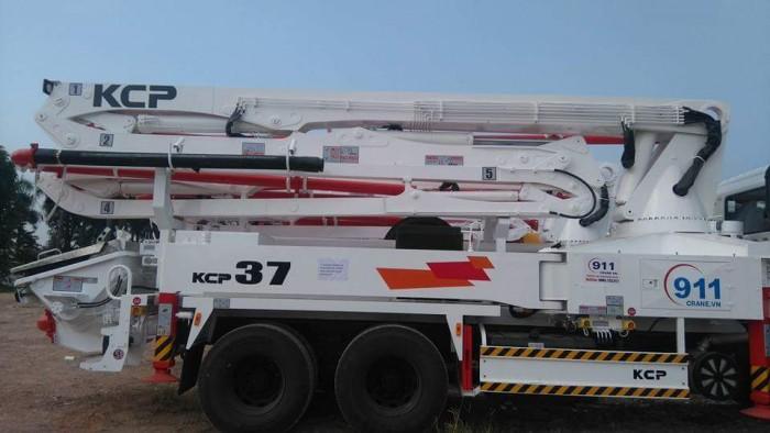 xe bơm bê tông KCP cần 28m-55m mới 100% 2
