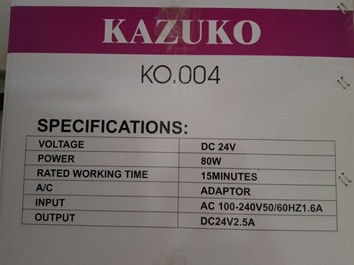 máy Massager Kazuko 5D.