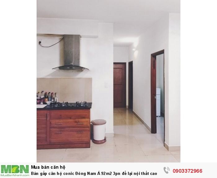 Bán gấp căn hộ conic Đông Nam Á 92m2 3pn để lại nội thất cao cấp hỗ trợ vay 70% giá siêu rẻ