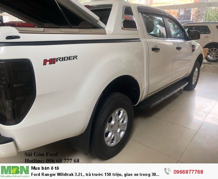 Ford Ranger Wildtrak 2.0L số tự động, trả trước 150 triệu, giao xe trong 30 ngày 5