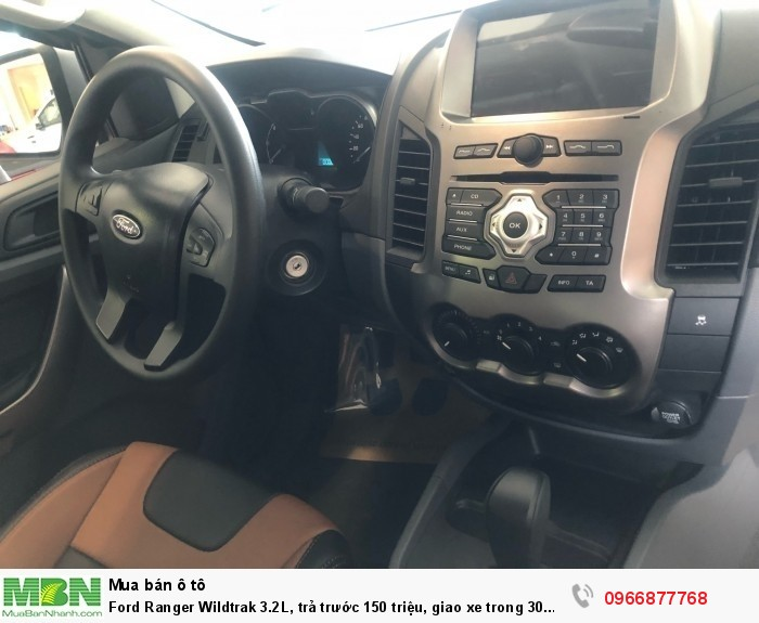 Ford Ranger Wildtrak 2.0L số tự động, trả trước 150 triệu, giao xe trong 30 ngày 7