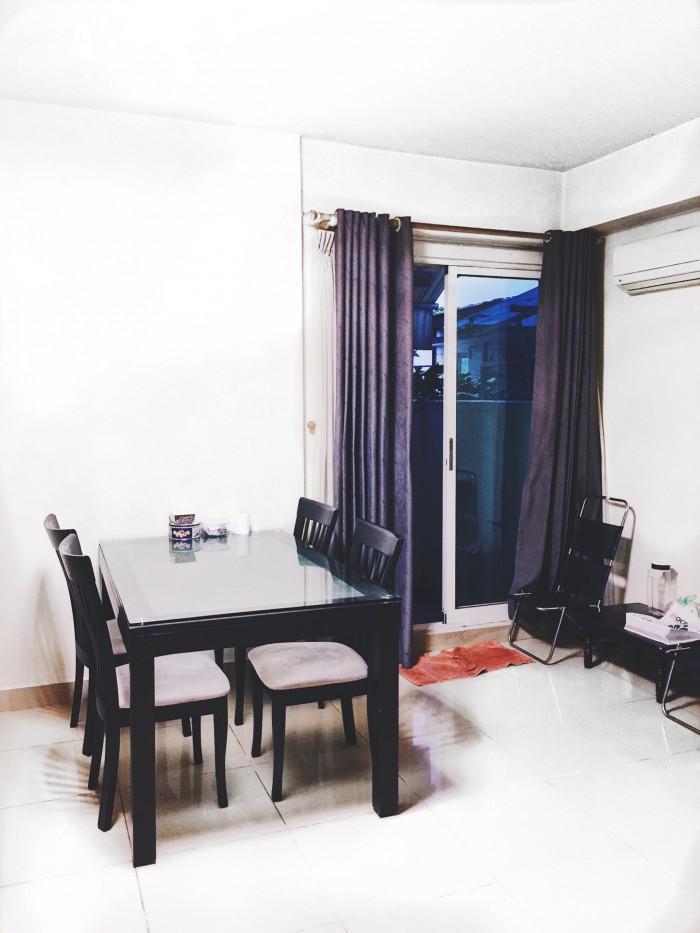 Bán căn hộ 92m2 3PN-2WC giá 1,37 tỷ- có sổ hồng- tặng nội thất trong nhà- CH liền kề Q.7 Q.8