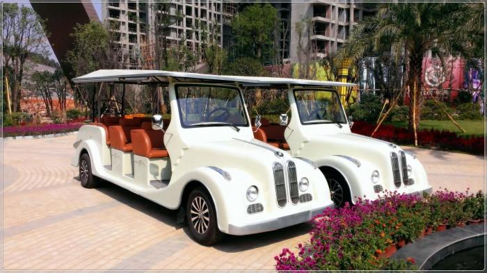 Xe điện chở khách, xe điện kiểu cổ
