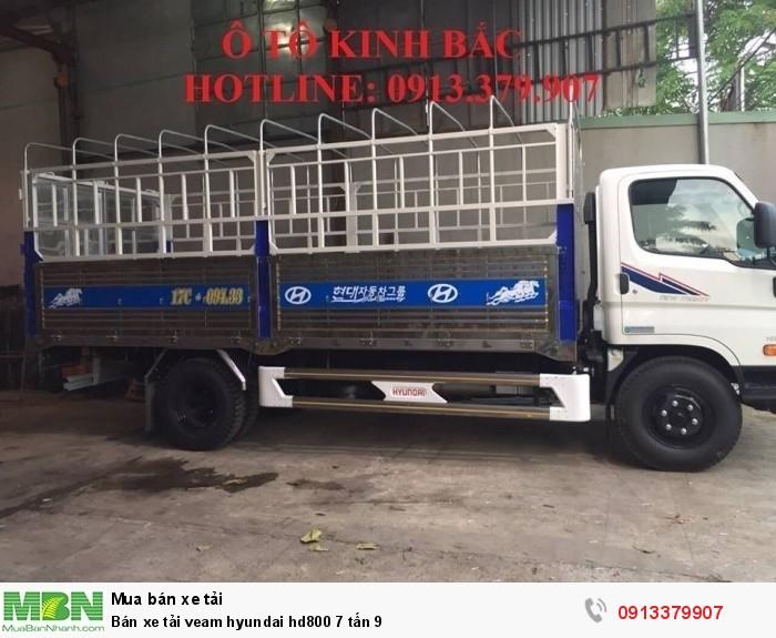 Bán xe tải veam hyundai hd800 7 tấn 9