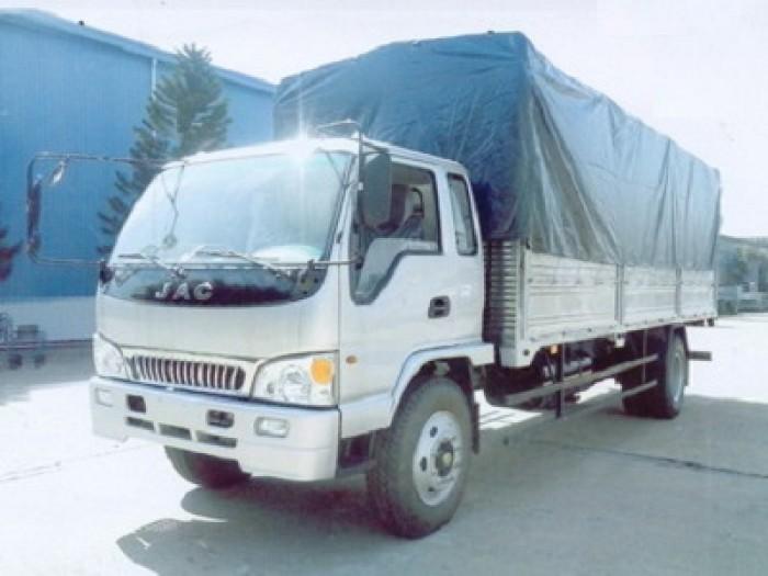 Xe tải JAC 9.1 Tấn Thùng Bạt - HFC1383K