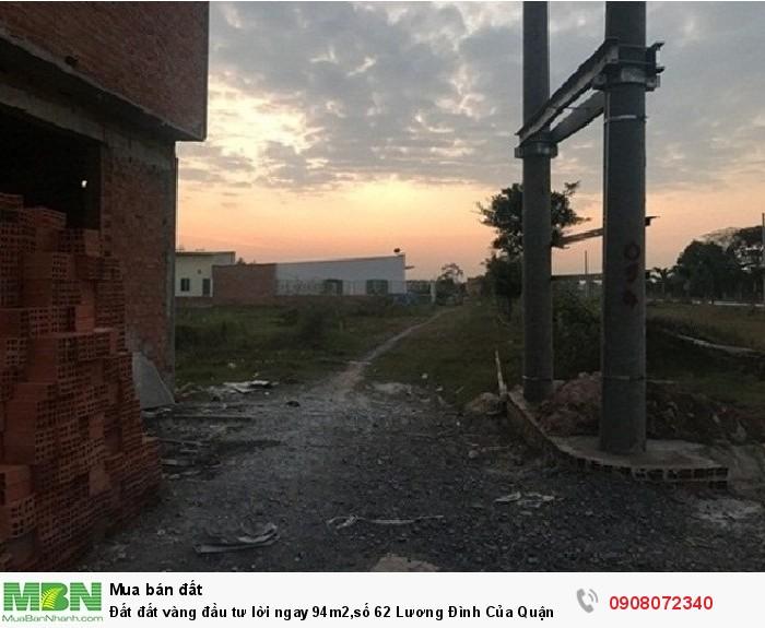 Đất đất vàng đầu tư lời ngay 94m2,số 62 Lương Đình Của Quận 2,giá rẻ nhất hiện nay,đã có sổ.