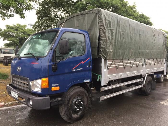 Xe HyuDai Nâng tải HD800 tải trọng tới 8.8 tấn