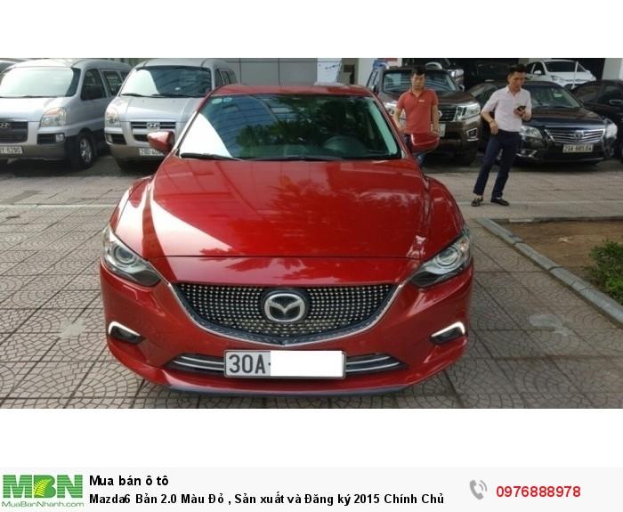 Mazda 6 sản xuất năm 2015 Số tự động Động cơ Xăng