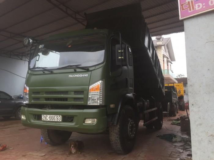Bán xe tải ben trường giang 9,2 tấn 9 tấn 2 9T2 2015 xe đẹp giá tốt 9
