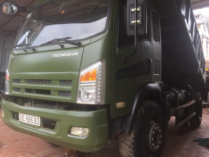 Bán xe tải ben trường giang 9,2 tấn 9 tấn 2 9T2 2015 xe đẹp giá tốt 10