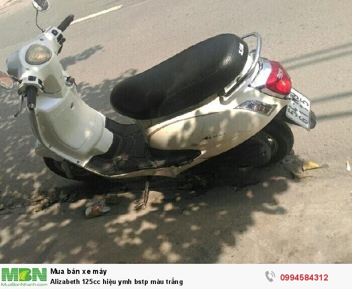 Alizabeth 125cc hiệu ymh bstp màu trắng 3