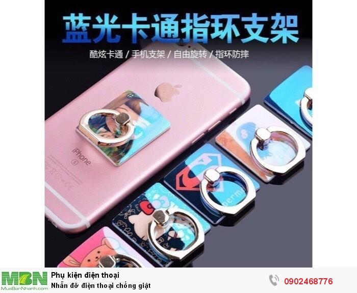 Nhẫn đỡ điện thoại chống giật