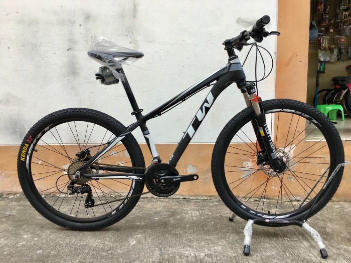 Xe đạp Twitter TW3700XC 2016, mới 100%, miễn phí giao hàng, màu Đen xám