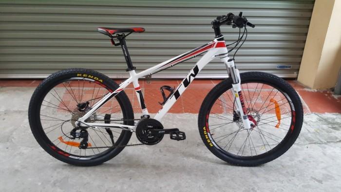 Xe đạp Twitter TW3700XC 2016, mới 100%, miễn phí giao hàng, màu Trắng đỏ