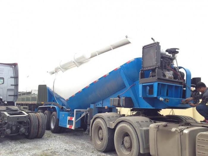 Chuyên bán Sơ mi rơ moóc Bồn chở xi măng rời 32,7 tấn 31 khối DOOSUNG giá tốt nhất miền Nam.
