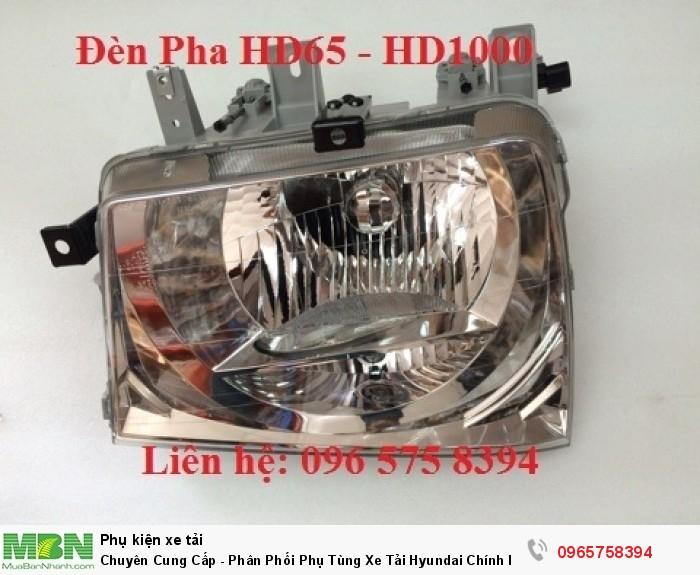 Đèn pha hyundai hd65/72 -  hd120 trở lên đầu kéo hd700/1000