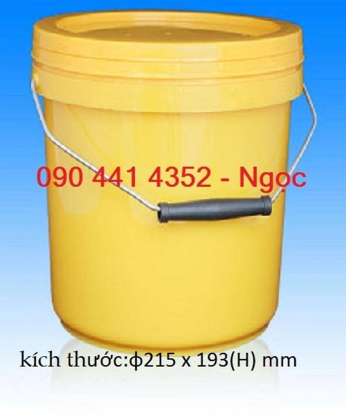 Thùng sơn 18 lít-30 lít. Thùng nhựa đựng sơn nước , vỏ thùng sơn giá rẻ tphcm